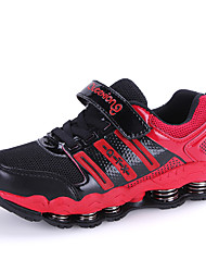 Boys' Shoes Party & Evening / Athletic / Casual Tulle / Leatherette Boots / Fashion Sneakers Black / Blue / Pink