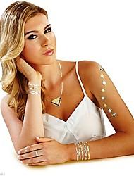 4pcs / set nuovi gioielli calde tatuaggi temporanei oro e argento costume tribale e classica (casuale)