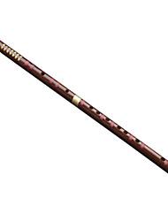 flûte professionnelle avec le cuivre deux kuzhu, au début de l'apprentissage des instruments flûte de raffinage
