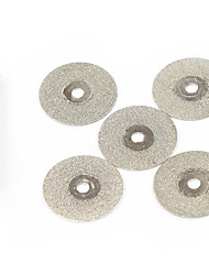20mm 5pcs Mini Diamond Cutting Discs Dremel Tools Jewelry