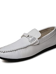 Men's Boat Shoes Casual/Drive/Office & Career/Party & Evening Fashion PU Leather Slip-on Shoes
