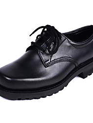 Men's Shoes Wedding / Outdoor / Office & Career / Party & Evening / Casual Nappa Leather Oxfords Black