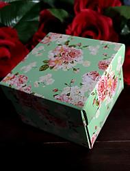 12 Stück / Set Geschenke Halter-kubisch Kartonpapier Geschenk Schachteln Nicht personalisiert