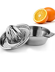 Hand Press Stainless Steel Lemon Orange Lime Squeezer Juicer Juice Cocktail Maker Kitchen Bar Tool Gadget