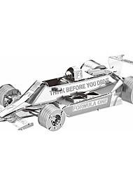 Пазлы 3D пазлы / Металлические пазлы Строительные блоки DIY игрушки Автомобиль Металл Розовый Модели и конструкторы