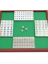 Royal St. Miniature Crystal Mahjong Mahjong Mahjong Tourism 20 Mm Transparent/Bag