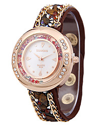 Women's Fashion Belt Ancient Rhinestone Sand Borer Watches Quartz Watches