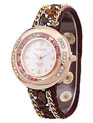 женская мода пояса древний горный хрусталь песок буром часы кварцевые часы