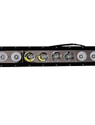 1pcs 16 Zoll 80w Cree ip68 LED-Lichtleiste mit Grill Installation