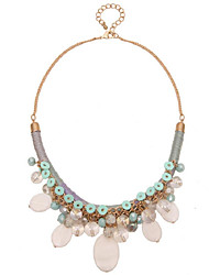 LGSP Women's Alloy Necklace Daily Multi-stone-61161031