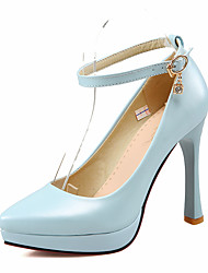 talons printemps chaussures club de chute d'été confort cheville sangle bureau de mariage pu&partie de carrière&stiletto soirée
