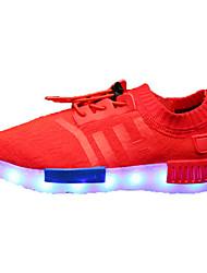 Botas / Sneakers a la Moda / Zapatos Náuticos(Negro / Azul / Rojo) -Confort / Botas a la Moda-Semicuero