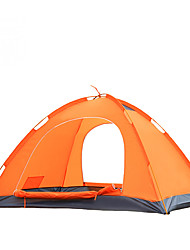 Yunyi 2 persons Tent Backpacking Tents One Room Camping Tent Waterproof Breathability Rain-Proof Dust Proof Windproof Keep WarmBlue Orange