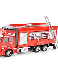 Children's toy car truck 1:48 back of alloy car model toy excavators 1:48 water gun carriage (9PCS)