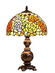 Tiffany Designed Table Lamps with 1 Light