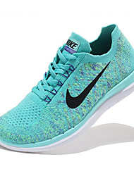 Nike Free RN 4.0 Flyknit Men's Shoe Running Sneakers Athletic Shoes Green Purple Red Pink
