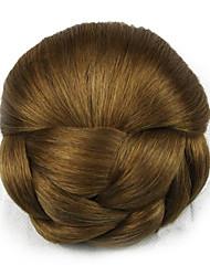 Kinky кудрявый коричневого европы невесты человеческих волос монолитным парики шиньоны dh102 2005