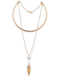 LGSP Women's Alloy Necklace Daily Crystal-61161048