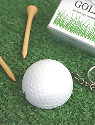 """A Leisurely Game of Love"" Golf Ball Tape Measure Wedding Favors, Promotional Gifts"