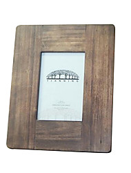 7*5*1 7 Inch Solid Wood European/Americano Style Vintage Picture Frame