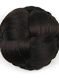 Kinky кудрявый черный европы невесты человеческих волос монолитным парики шиньоны g660232-л 2/33