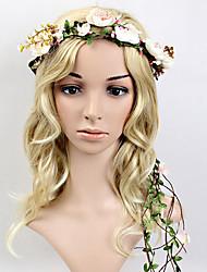 Women's Plastic Headpiece-Wedding / Special Occasion Headbands / Wreaths 1 Piece