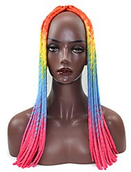 blue Crochet Dread Locks Hair Extensions 20inch Kanekalon 1 Strand 100g gram Hair Braids