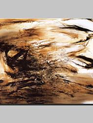 grande peinte à la main peinture abstraite à l'huile moderne fantastique sur toile un panneau avec cadre prêt à accrocher
