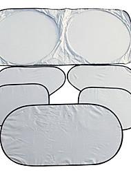 6pcs protetor janela auto matização kitssun 150 * 70 têxteis