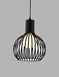 Max 60W Retro Designers Metal Pendant Lights Living Room / Bedroom / Dining Room / Kitchen / Study Room/Office