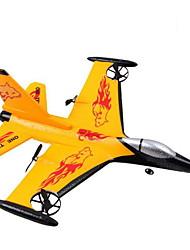WS 9106 F16 Quadcóptero RC 4ch 2.4G Espuma amarelo