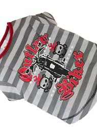 Chien Tee-shirt Vêtements pour Chien Cosplay Gris