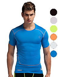 Vansydical Men's Quick Dry Fitness Tops - JSY-2015