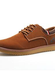 Черный / Синий / Коричневый-Мужская обувь-Для занятий спортом-Флис-Кроссовки