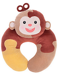 Metoo Microphone Rabbit Spell Sunpoo U-Shaped Neck Pillow Nursing Plush Toys Birthday Christmas U-Shaped Brown Puzzle