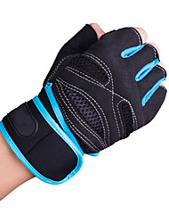 Self Cycling Motorcycle Riding Gloves Semi Finger Outdoor Gloves Anti Slip Sports Body-Building Gloves