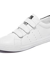 Women's Shoes Synthetic Spring / Fall/Winter Comfort Sneakers Athletic / Casual Flat Heel Hook & Loop Black/Green