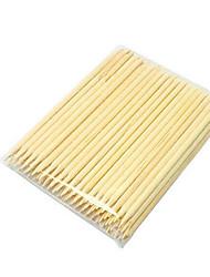 pinpai 50pcs clavo productos de madera del clavo del rhinestone de la belleza palillo la madera larga del 11cm