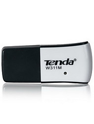 Tenda 150Mbps mini-USB WiFi adaptador de rede placa de adaptador receptor placa wireless