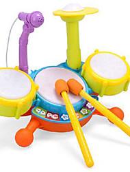 / Metal / Plástico Amarelo Puzzle brinquedo Toy música