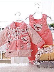 Manufacturers of infant winter cartoon piece cotton baby out clothes for men and women warm coat jacket children