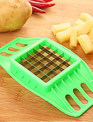 1 Creative Kitchen Gadget / Easy Cut Plastique / Métal / ABS Coupe-Fruits & Légumes