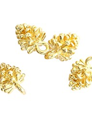 "20Pcs 0.5"" Gold Plated /Silver Small Cute Charms Brass Mini Pine Cones Necklace Pendant For DIY Jewelry Making"