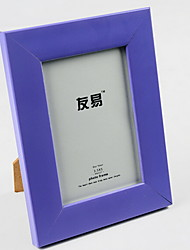 "5""Plastic Picture Frame for Home Decoration(Random Color)"