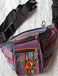 Feminino Lona Casual Bolsa de Cintura 1 # / 2 # / 3 #
