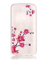 Para Funda LG IMD / Diseños Funda Cubierta Trasera Funda Flor Suave TPU LG LG K8 / LG K7 / LG K4 / LG G5
