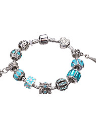 Fashion Bracelet Women European Style Beads Elasticity Bangle #YMGP1032