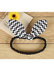Girls Hair Accessories,All Seasons Acrylic / Cotton Blends Black / White
