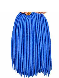 Havana / Crochet Hair Braids Kanekalon Synthetic Hair Faux Dreadlocs Braiding Hair Extensions