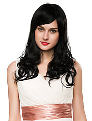 Woman's Fluffy Natural Wave Capless Remy Human Hair Hand Tied -Top Wig